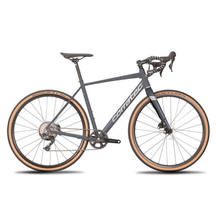 BICICLETTA CORRATEC GRAVEL ALLROAD A1 GREY 2021